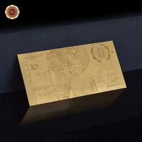 WR 24K Gold Australian 1988 Bicentenary $10 Polymer Note Wedding Bomboniere Gift