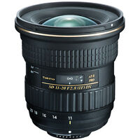 Tokina AT-X 11-20mm f/2.8 PRO DX Lens For Nikon F Multi-Layer Lens Coating NEW