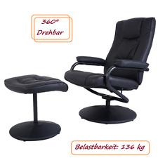 TV Relaxsessel Fernsehsessel kippbar drehbar incl. Hocker Relaxstuhl Lesesessel