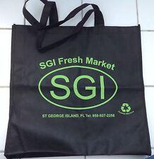 St George Island Fresh Market Florida Reusable Shopping Bag Grocery Beach Tote