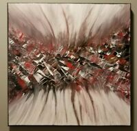 "Abstract acrylic painting on a 14""x14"" canvas, original painting, Modern art."
