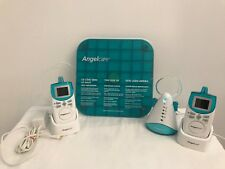 Angelcare Deluxe Movement And Sound Monitor Aqua White AC401-A #P11