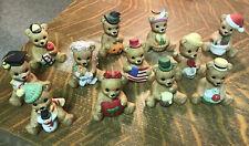 Homco calendar figurines, full set of 12