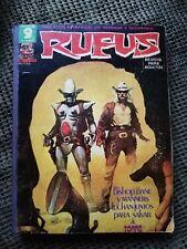 Libros antiguos comics Rufus relatos gráficos de terror y suspense usado
