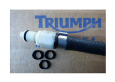 Triumph Sprint ST 955i  O-Ring Kraftstoffleitung 3x Gummiring Dichtring