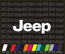Jeep 4x4 Truck off road  Auto Car Stickers Decals