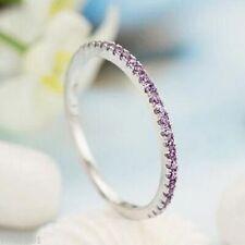 Band Amethyst Fine Rings