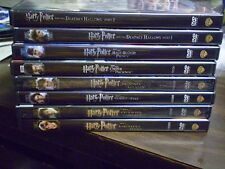 (8) Harry Potter DVD Lot: Harry Potter 1-8    All 8 Movies!!  Daniel Radcliffe