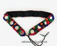 Tribal Hippie Boho Spiegelgürtel, 93 cm lang, Handarbeit, LARP, Cosplay