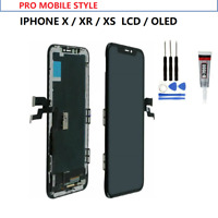 ÉCRAN OLED LCD VITRE TACTILE CHASSIS BLOC COMPLET AAA+ IPHONE X XS XR + OUTILS