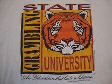Vintage NCAA Grambling Tigers College Sportswear Fan Paper Thin T Shirt Size XL