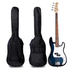 40/41'' Oxford Padded Electric Bass Guitar Gig Bag Case Double Straps Backpack