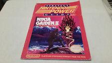 Nintendo Power ninja gaiden 2 strategy guide NO POSTER