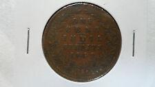 Straits Settlements Malaysia Singapore 1 Cent, 1862, VF-