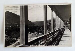 Chile 1942 – Mora – Copper mining  Termas de Cauquenes  Postal card for Naltagua