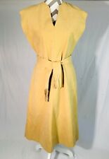 Vintage *Lilli Ann* Ultra Suede Dress W/ Belt Pocahontas Mod Look
