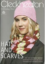 Cleckheaton HATS AND SCARVES  20 Designs for Thinkers & Makers Bk:976