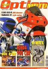 OPTION MOTO 39 HONDA RC 45 CBR 900 RR SUZUKI GSX-R 1100 YAMAHA R1 1200 Vmax VTR