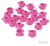 LEGO - 20 x Blüte / Blatt / Blume 1x1 dunkel pink ( Dark Pink ) / 33291 NEUWARE