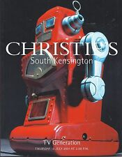 CHRISTIE'S SK TV GENERATION Robots Spacetoys Barbie Disney James Bond Catalog 01