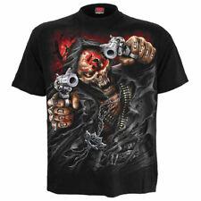Five Finger Death Punch - Assassin - Men's Black T-Shirt (Size L) - Gothic,Goth