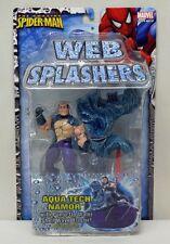 Amazing Spider-Man Web Splashers Aqua Tech Namor ToyBiz NIP 2006 4+ S163-7
