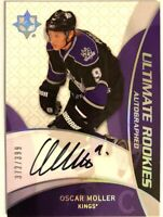 2008-09 Ultimate Collection Autograph Rookie Card Oscar Moller RC /399 #84
