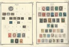 Brazil Collection 1843-1940 on 27 Scott Specialty Pages, SCV $1490