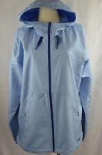 Mountain Hardwear Wind Activa Jacket Women Size: XL Sky Blue Wind Rain Softshell