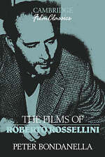 THE FILMS OF ROBERTO ROSSELLINI., Bondanella, Peter., Used; Very Good Book