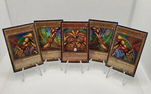 YuGiOh! Exodia The Forbidden One | 5 Card Set | YGLD | 1st Ed. Ultra Rare Holo