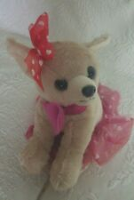 "Dan Dee Chiahuaha Dog Plush Stuffed Animal 10"" Tall"