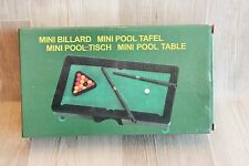 Mini Billard - Mini Pool Table - Miniature - très bon état