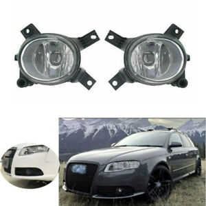 Pair of Fog Light Driving Lamp Fit for Audi RS4 S4 A3 A4 B7 05-08 8E0 941 699C