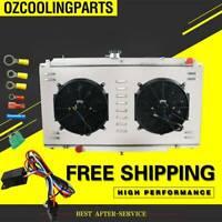 Radiator+Shroud Fan+Relay For Nissan Patrol GU Y61 TD42 3.0 4.2L Diesel MT 3Row