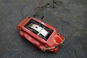 Front Left Brake Caliper & Bracket Red 11C0563CP OEM McLaren MP4-12C *Note*