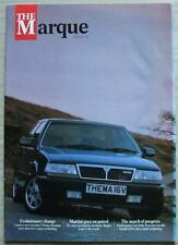 The MARQUE LANCIA In House Magazine ISSUE 13 SUMMER 1989 Delta HF Integrale 16v