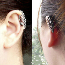 Retro Piercing Unisex Men's Hand Women Pierced Skull Earrings Gothic Punk