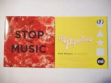 Unique Lot de 2 CD Single ▬ THE PIPETTES ▬ Port GRATUIT