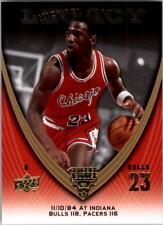 2008-09 Upper Deck Michael Jordan Legacy Collection U Pick Finish Set #1-1034