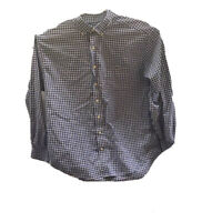 Vineyard Vines Mens Oxford Tucker Shirt Blue Long Sleeve Classic Fit Pocket XL
