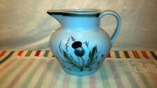 VTG Buchan Thistleware Scotland Blue Stoneware Pottery 60 oz Pitcher 61/60