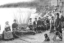 Ntr-87 Social History, Lobster Pots, Hallsands, Devon. Photo