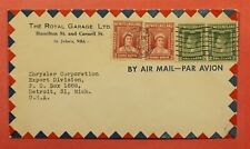 Dr Who 194? Newfoundland Canada St John'S Airmail To Usa C219252