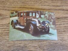 Used Unposted 1912 Renault Postcard - Forney Museum, similar to 1 on Titanic(FC)
