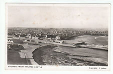 Thurso From The Castle Caithness Real Photograph J Adams  Old Postcard Postally