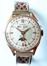 Bucherer Bidynator Tevo Triple Date Moonphase Vintage Watch No Reserve Watches