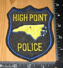 High Point North Carolina Police Department Cloth Patch Only