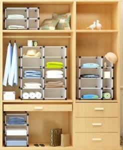 Closet Organisers Wardrobe Storage Hanger Cloth Shelf Rack 2/3/4/5/6 Layers