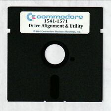Commodore 64/128 1541-1571 Alignment Program disk & CD